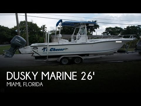 [SOLD] Used 1995 Dusky Marine 256 Fisherman's Cuddy Center Console in Miami, Florida