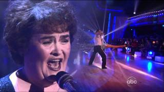susan boyle i dreamed a dream dancing with the stars 2009