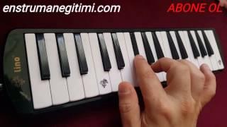 Şarkı notaları melodika kiralık aşk