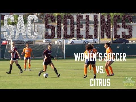 Women's Soccer vs Citrus College
