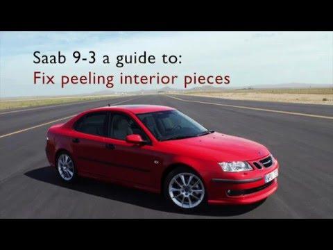 Saab 9-3 Peeling Door Handle Fix