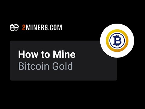 How To Mine Bitcoin Gold - BTG Mining Pool Setup
