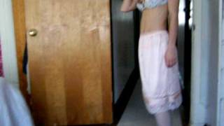 Video Rosalia's Peachy Pink Petti Nylon Half Slip download MP3, 3GP, MP4, WEBM, AVI, FLV Juni 2018