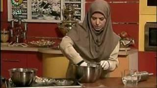 sherani Zaban 1طرز تهیه شیرینی زبان با خمیر هزار لا قسمت اول