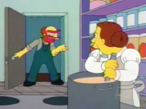 Groundskeeper Willie Grease Me Up