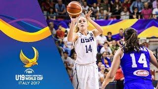 USA v Italy - Full Game - FIBA U19 Women's Basketball World Cup 2017