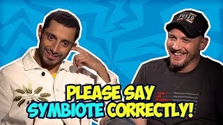 VENOM Cast Makes Fun Of Each Other - Tom Hardy & Riz Ahmed