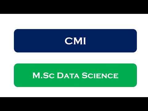 Chennai Mathematical Institute | MSc Data Science