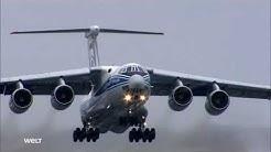 Iljuschin Il-76 - Transportflug in die Arktis