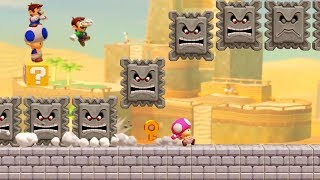 Super Mario Maker 2 - Online Multiplayer Co-op #60