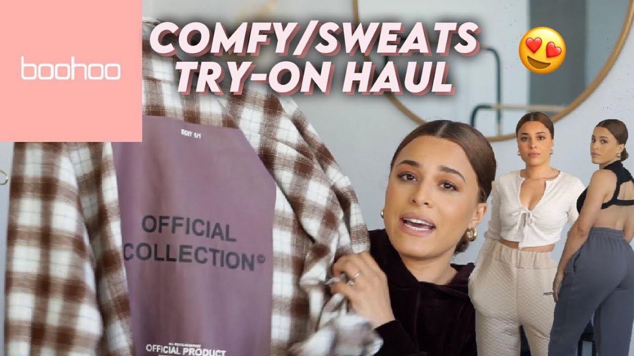 BOOHOO try on haul *comfy chill vibes*