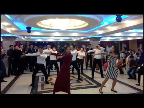 Видео: Супер флешмоб в Казахстане.Свадьба 2015