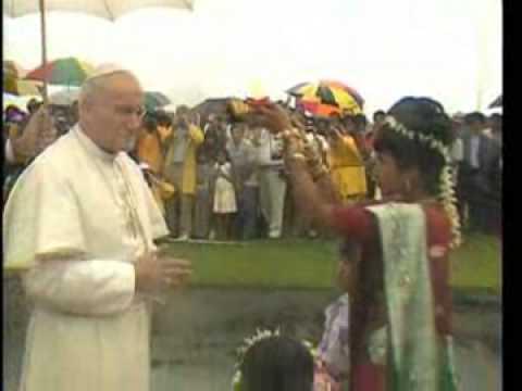 Saint Pope John Paul II - Friendly Pope