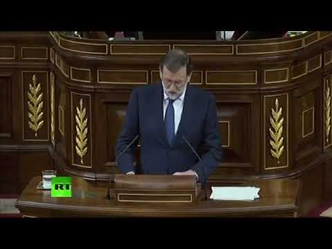 Comparecencia de Mariano Rajoy en el Congreso tras la Declaración de Independencia de Cataluña
