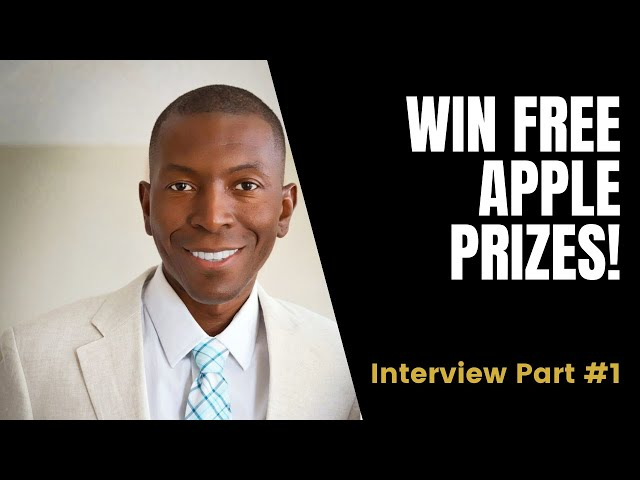 🚨Win FREE Apple Prizes! 🚨| Interview with Sam Cunningham | 1/6
