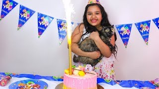 حفلة عيد ميلاد قطة شفا !! Happy Birthday My Cat