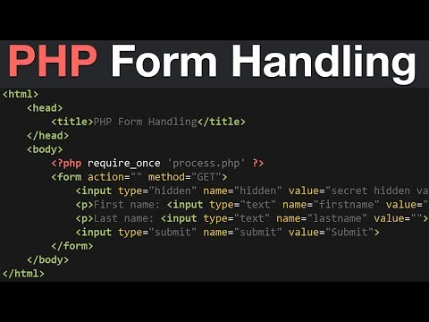 PHP Form Handling Tutorial - GET, POST & REQUEST Global Variables | Learn PHP Programming