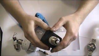 Светодиодная лампа своими руками из 10 ватного светодиода(Простейшая светодиодная лампа из старого адаптера и радиатора. Светодиоды: http://ali.pub/b21om *тут ток светодиода..., 2016-04-23T14:12:01.000Z)