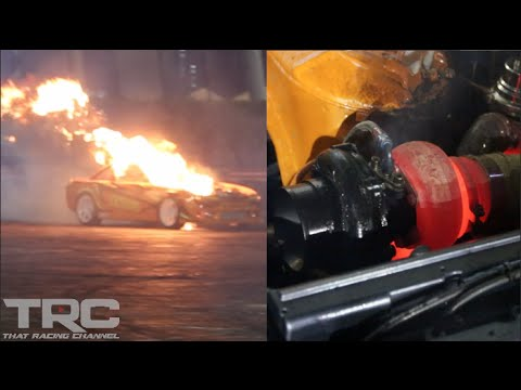 Crazy 2JZ Flame Thrower Anti-lags to Explosion!