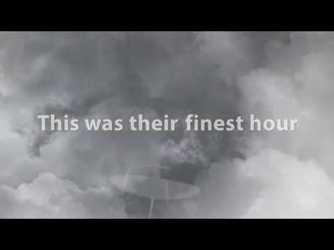 "Animated ""This Was Their Finest Hour…"" speech by Winston Churchill"