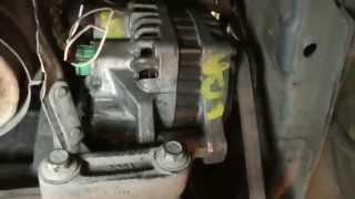 видео Обзор генератора Chery (Amulet, Tiggo и Kimo), ремонт щеток и других компонентов, замена ремня