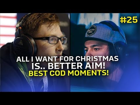 ALL I WANT FOR CHRISTMAS IS.. BETTER AIM! (Best Moments In COD Modern Warfare Pt.25)