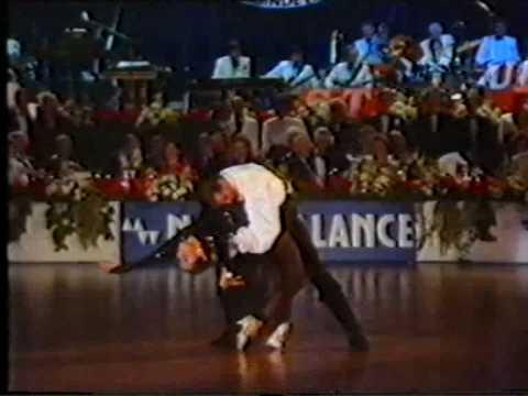 1988 Super Worldcup Professional Latin Part 8/8 Honour Dance