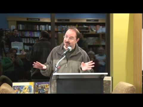 John Scalzi's Kermit Moment at Gibson's Bookstore, Concord, NH (Long Version)