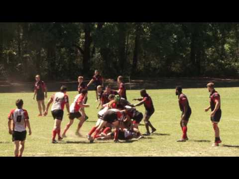 Rugby Gainesville Hogs Vs Brevard Pt 1  2017 04 08