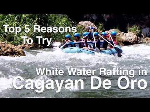 Top 5 Reasons to Try White Water Rafting in Cagayan de Oro