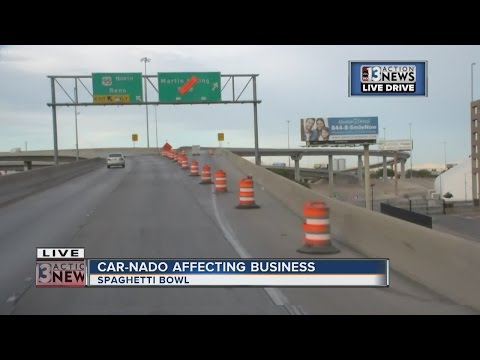 How is 'car-nado' going to affect Las Vegas businesses?