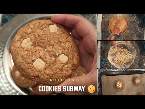 cookies-façon-subway-😍😍---recette-sohadga-n°-52