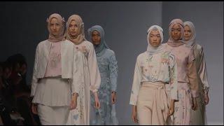 Cakarta Moda Haftası 2015-2016 | Ria Miranda Tesettür Giyim Defilesi