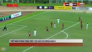 Tin Thể Thao 24h Hôm Nay (7h - 12/9): Việt Nam Thắng Trận Thứ 3 Tại Giải U18 Đông Nam á