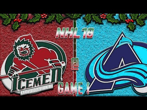 NHL 18 - Holiday Special '17 - Houston Ice Men @ Kansas City Blizzards R1G1