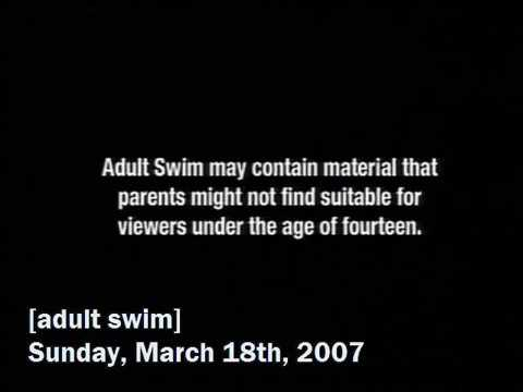 Old school Adult swim bumps