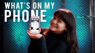 What's on my Phone | Amel Carla