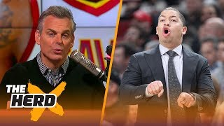 Colin Cowherd reacts to Ty Lue stepping away from the Cavs due to health reasons | THE HERD