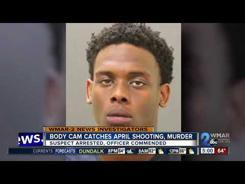 Baltimore Police body camera catches April murder in progress