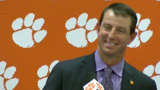 Clemson 35, Duke 6: Dabo Swinney postgame press conference