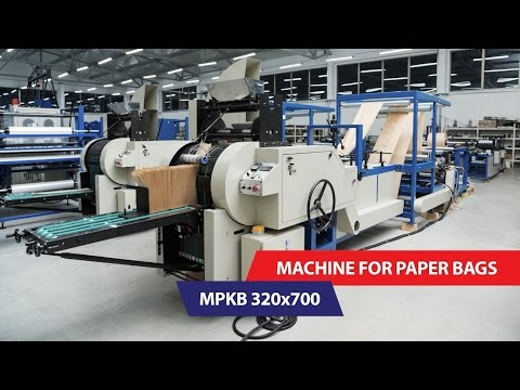 Auto Trade - Machine for paper bags MPKB 320x700