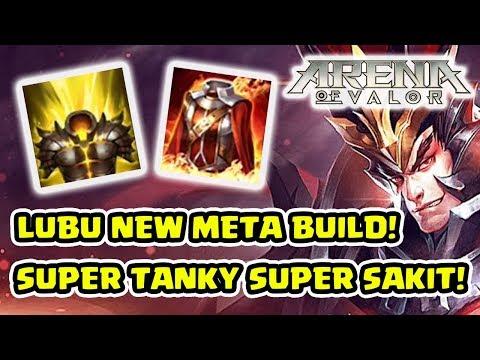 Lubu Jadi KUAT BANGET! New Lubu Meta Build! - Arena of Valor
