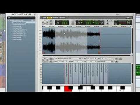 Structure: Mapping Samples - Virtual Instrument for Pro Tools