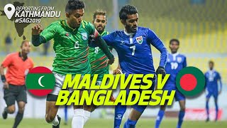 Highlights - Bangladesh v Maldives | Men's Football | 13th South Asian Games 2019
