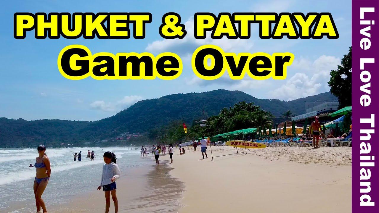 Phuket & Pattaya Game Over | No Tourists No Life #livelovethailand