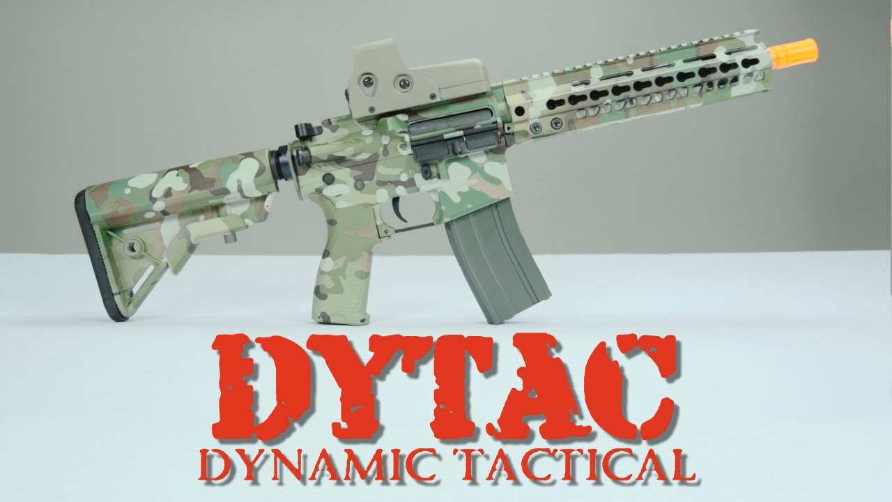 Dytac Overview featuring ProWin Hop Up and New Rails | Airsoftmegastore com