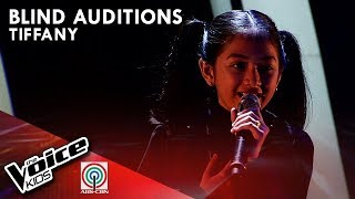 Tiffany Vistal - Stone Cold | Blind Auditions | The Voice Kids Philippines Season 4