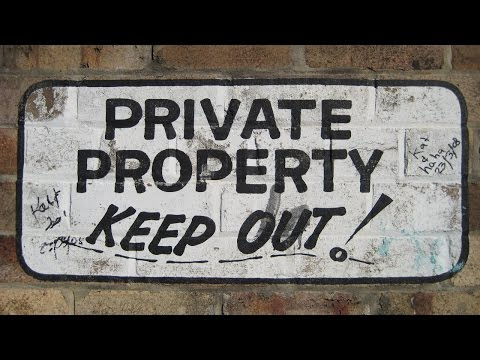 Three reasons we don't have private property in the USA