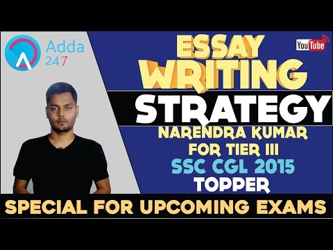 How to Score High in Essay By SSC Topper: SSC CGL Tier-III