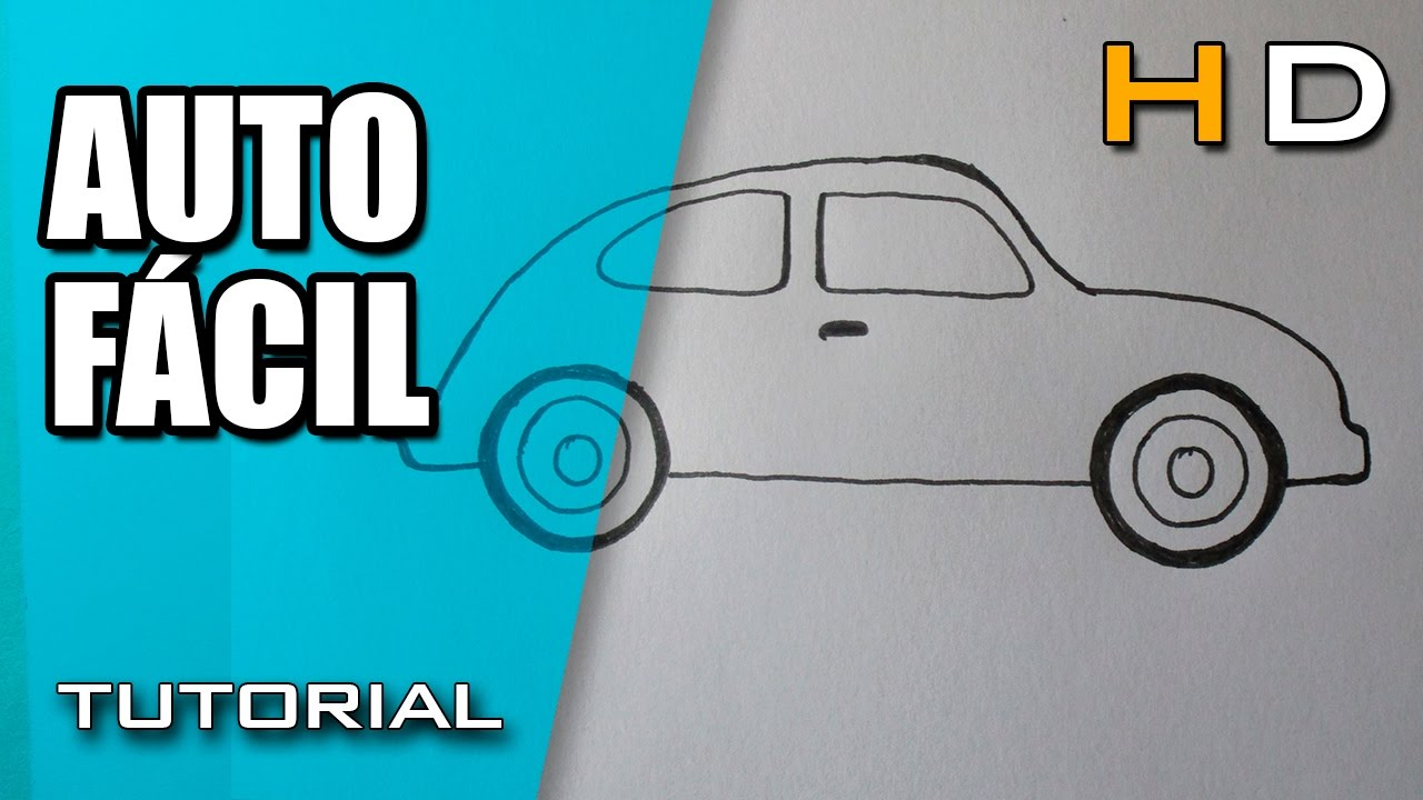 Como Dibujar Un Auto Facil Paso A Paso Aprender A Dibujar Un